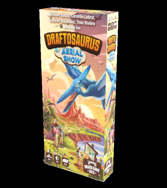 Draftosaurus Aerial Show 3D Box Top